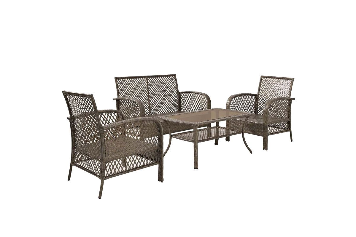 Tribeca 4 Piece Outdoor Seating Set By Crosley At Gardner