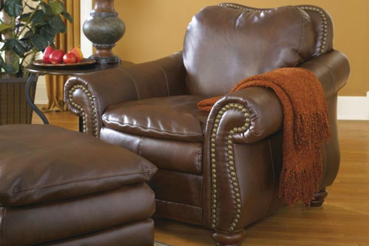 Durablend Leather Chair From Gardner White Furniture