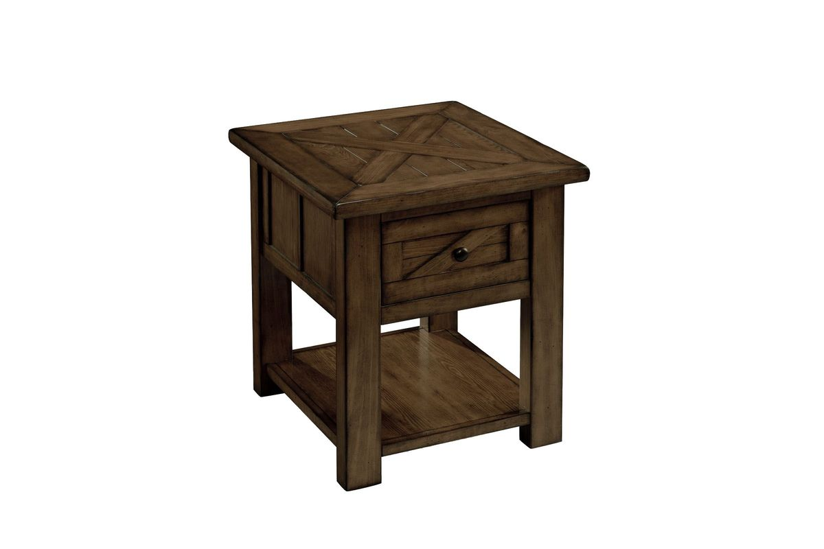 Rustic End Table At Gardner-White