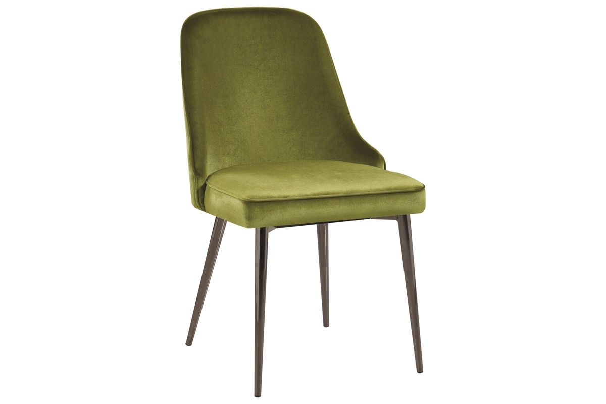 Scott Living Inslee Contemporary Green Dining Chair Set Of 4