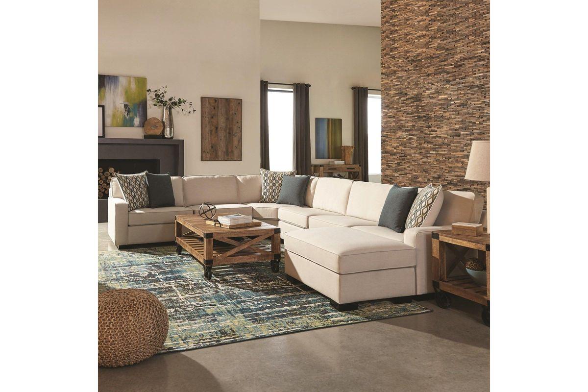 Scott Living Wylder 7 Piece Modular Sectional Sofa With Ottoman