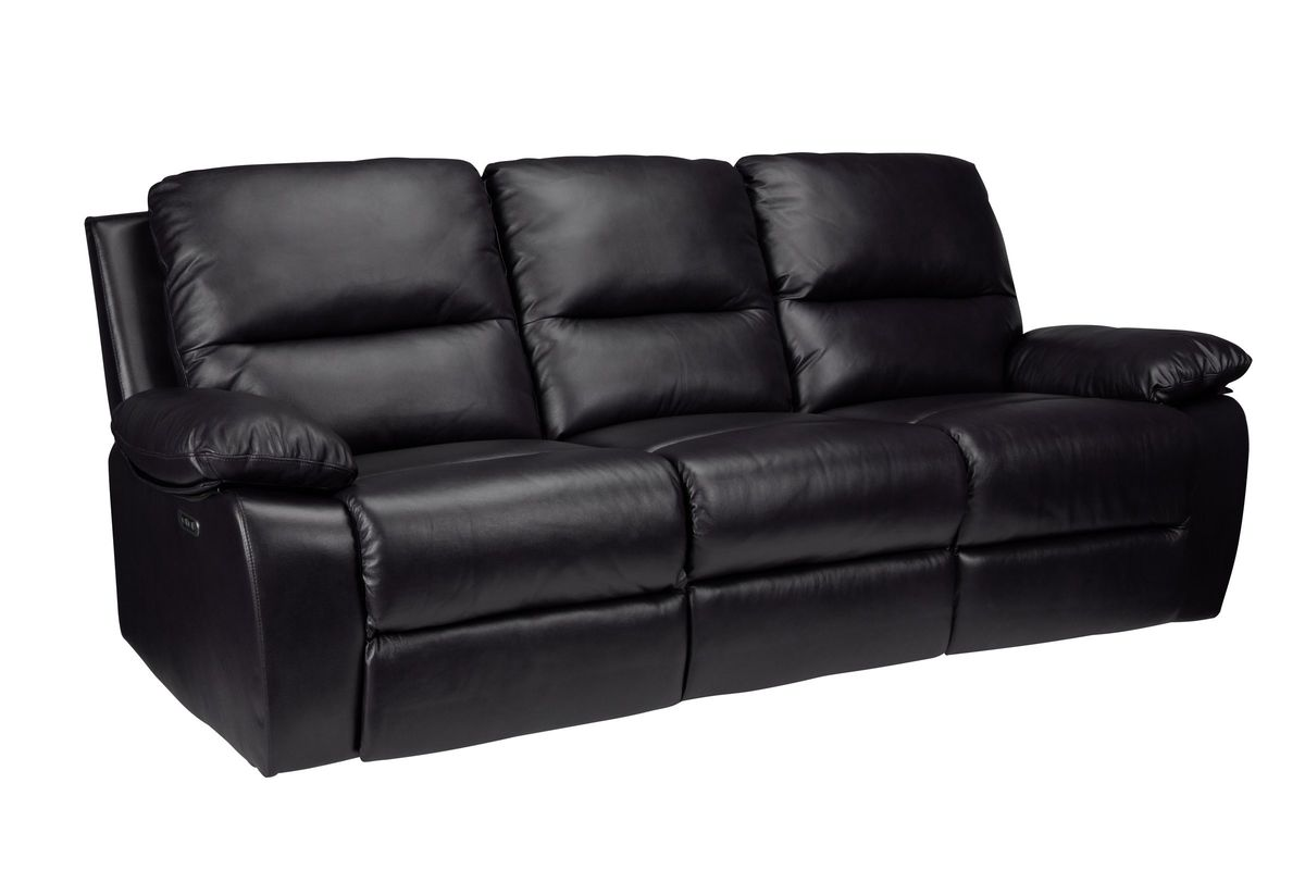 Bailey Leather Power Reclining Sofa At Gardner White