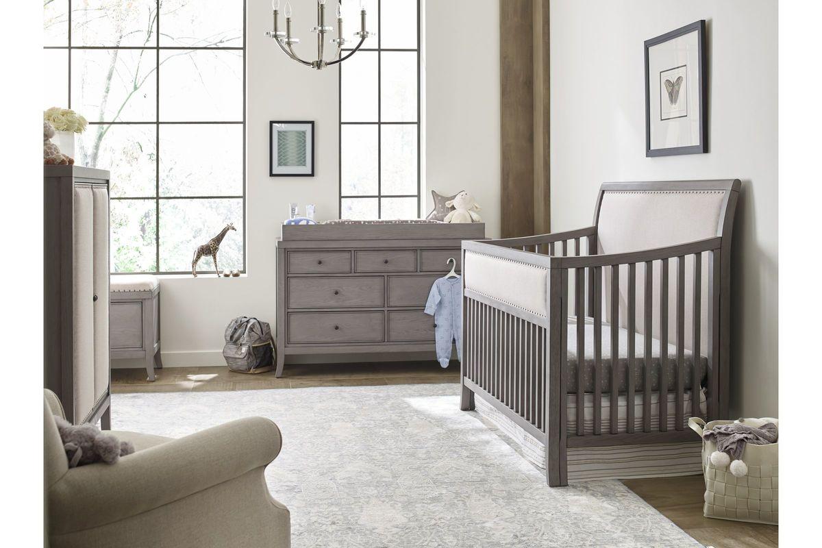 Ed Ellen Degeneres Wilshire Sleigh Convertible Crib By Bivona