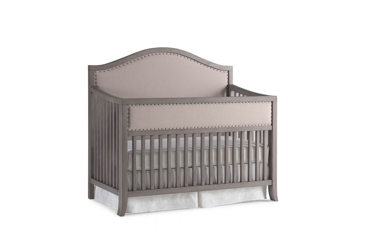 ED Ellen DeGeneres Wilshire Arched Convertible Crib by Bivona from Gardner-White Furniture