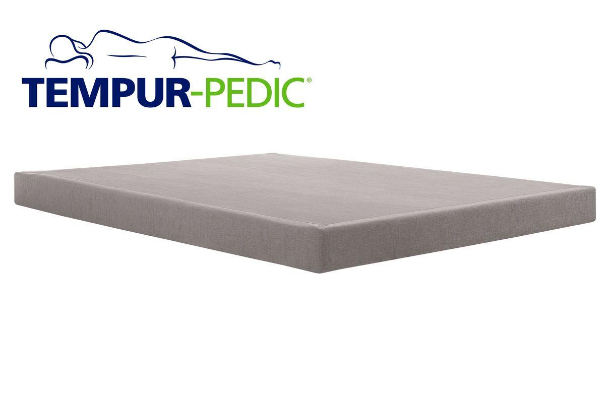 check out 31172 afc6c Tempur-pedic Charcoal Low Profile Queen Split Foundation