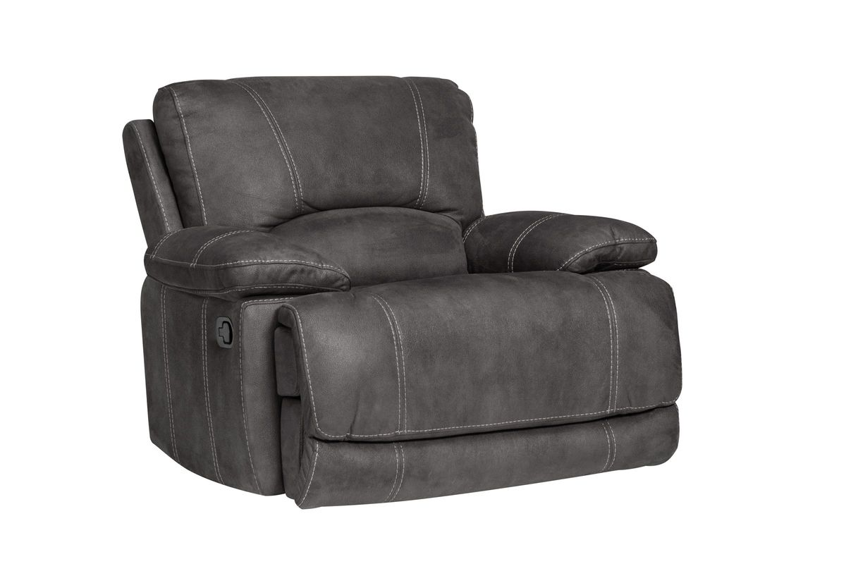 Victor Microfiber Gliding Recliner from Gardner-White Furniture