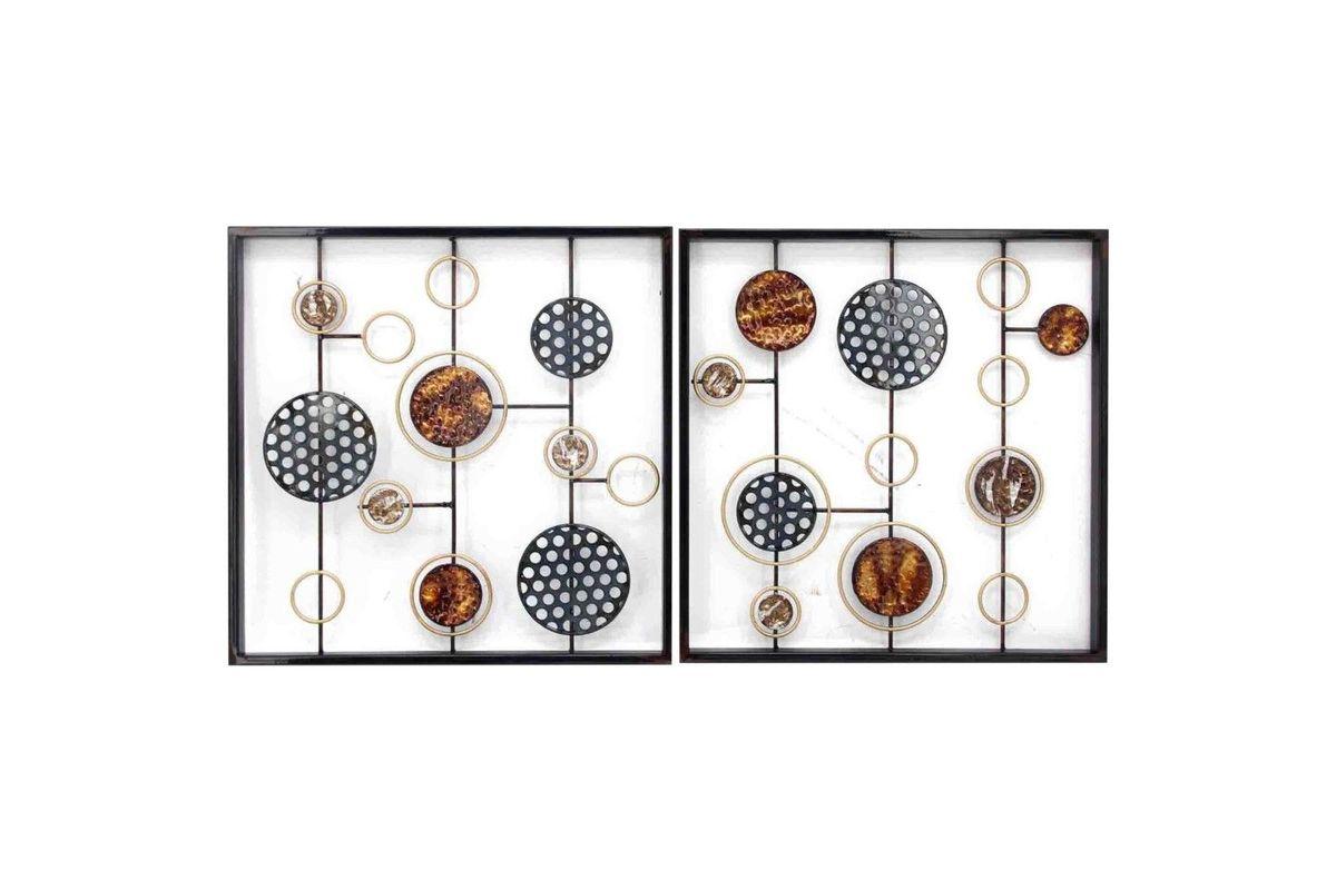 Cosmic Metal Wall Art Set Of 2 from Gardner-White Furniture