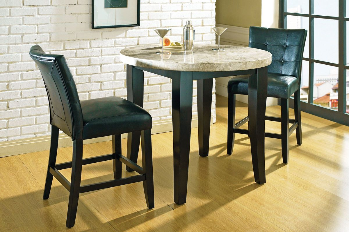 Merveilleux Monarch Round Pub Table U0026 4 Stools From Gardner White Furniture