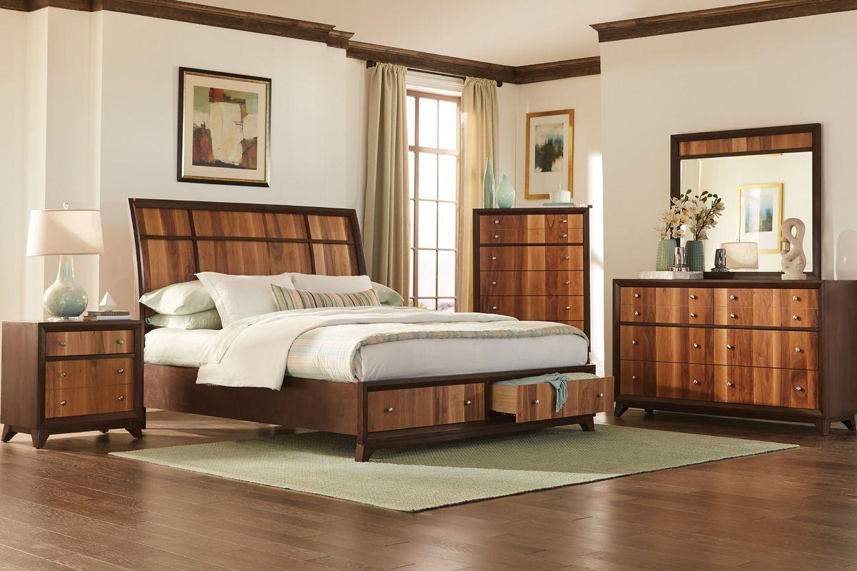 Add To Favorites Kendall 3 Piece Queen Bedroom Set No Dresser Mirror