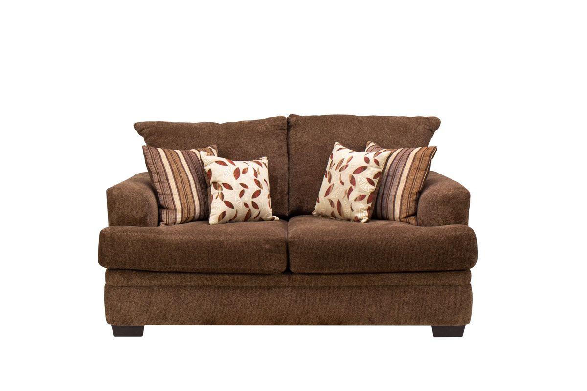 Bingham Chenille Loveseat from Gardner-White Furniture