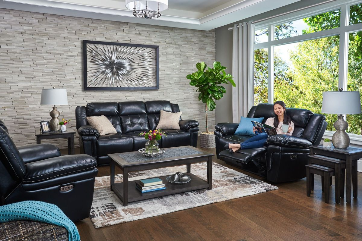 db76fc247e0b22 Vershire 3-Piece Power Reclining Living Room Set from Gardner-White  Furniture