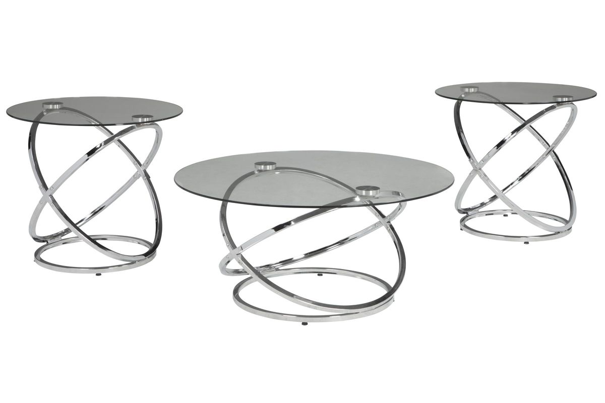 Hollynyx Occasional Table Set of 3 by Ashley from Gardner-White Furniture