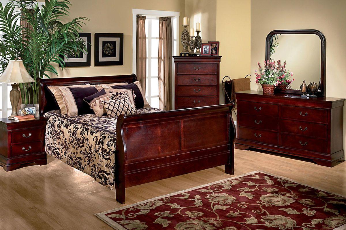 Louis 5-Piece Twin Bedroom Set