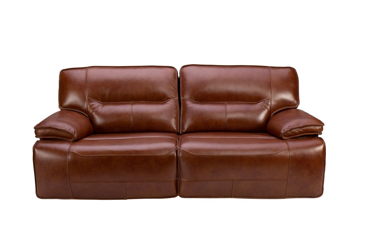 Incredible Drake Leather Power Reclining Sofa Pabps2019 Chair Design Images Pabps2019Com