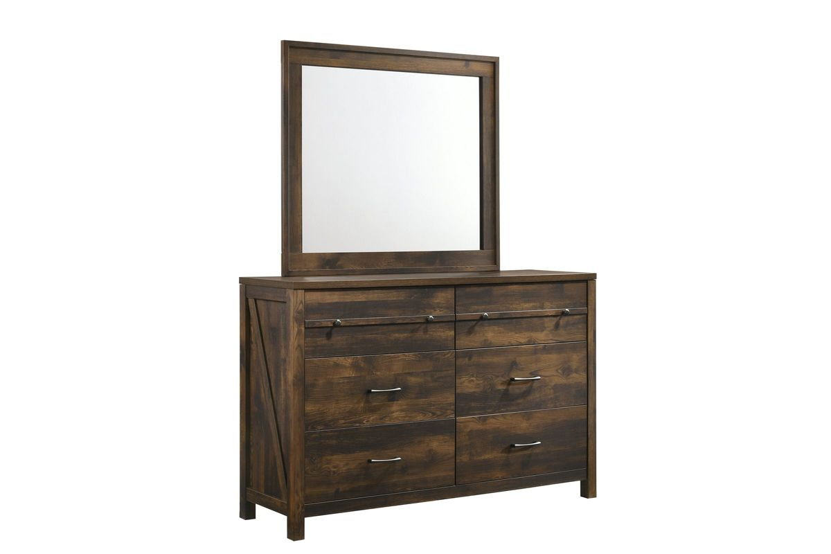 Hayfield Dresser + Mirror from Gardner-White Furniture