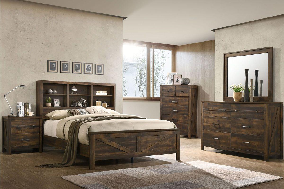 Hayfield 5 Piece Queen Bedroom Set At Gardner White