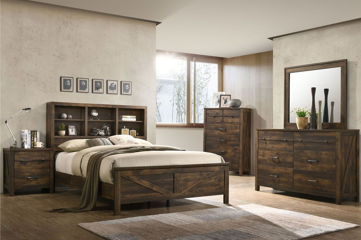 Hayfield 5-Piece Full Bedroom Set from Gardner-White Furniture