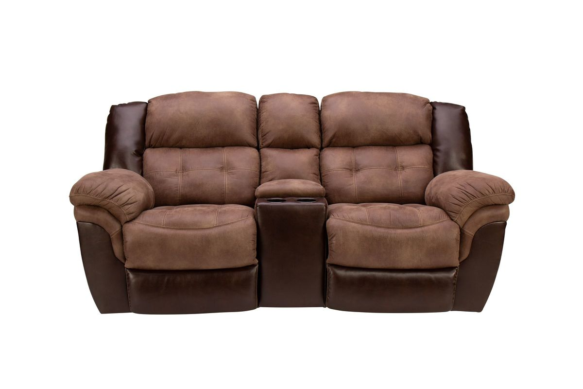 Fenway Microfiber Reclining Loveseat At Gardner White
