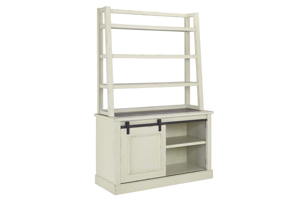 Jonileene Home Office Tall Desk Hutch by Ashley from Gardner-White Furniture