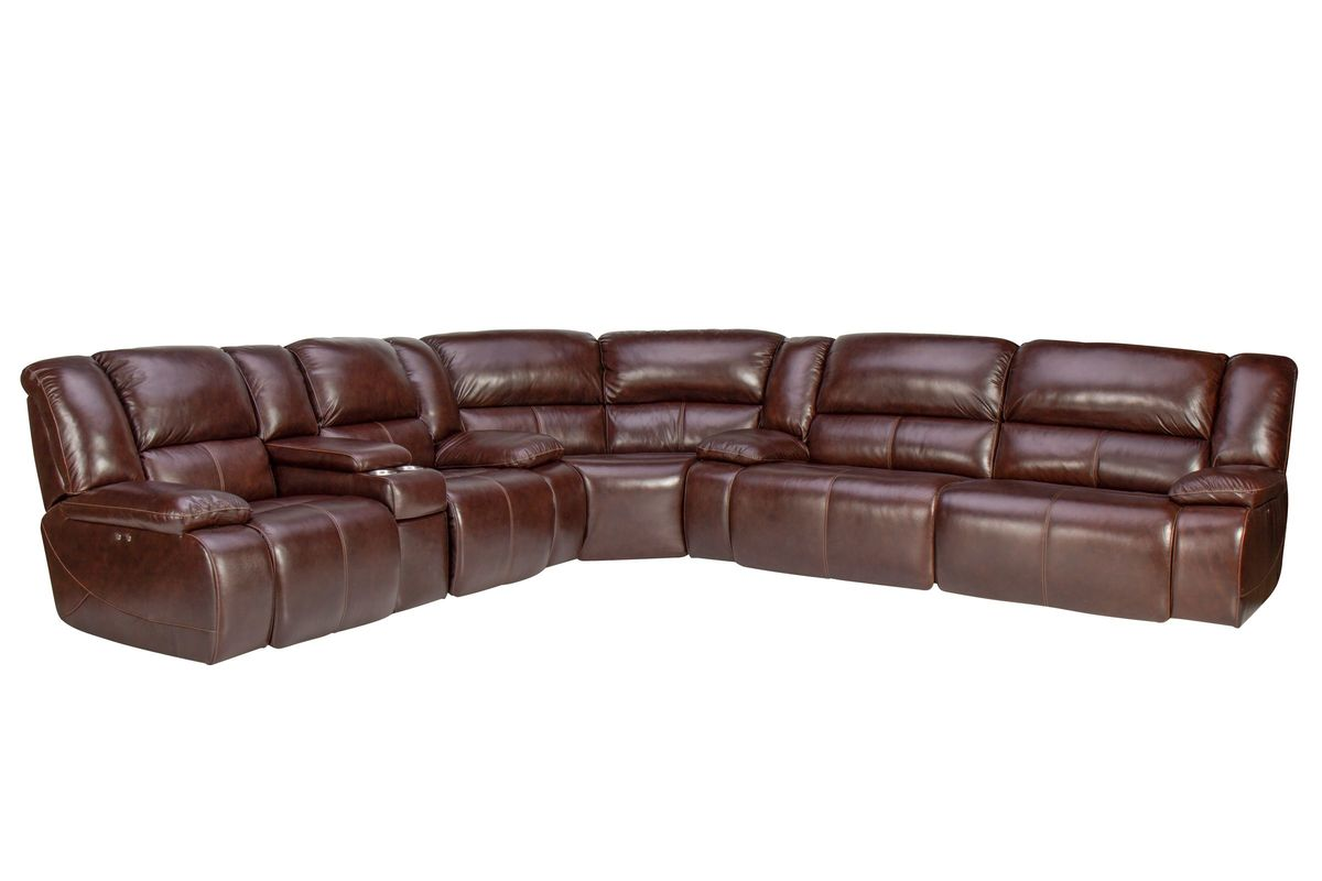 Power Reclining Leather Sectional Home Ideas