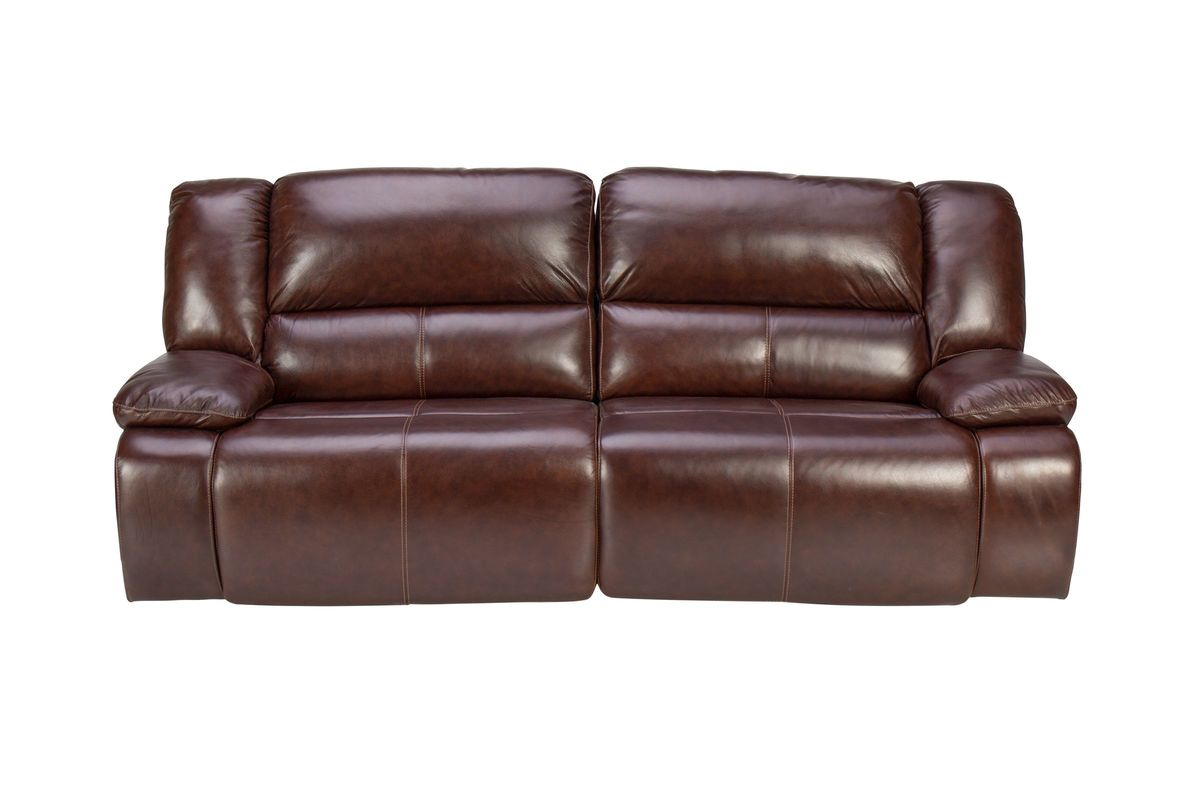 Amarillo Power Reclining Leather Sofa From Gardner White Furniture