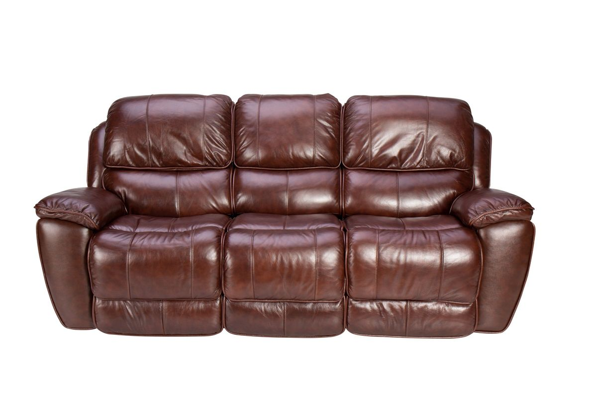 Crosby Leather Reclining Sofa From Gardner White Furniture