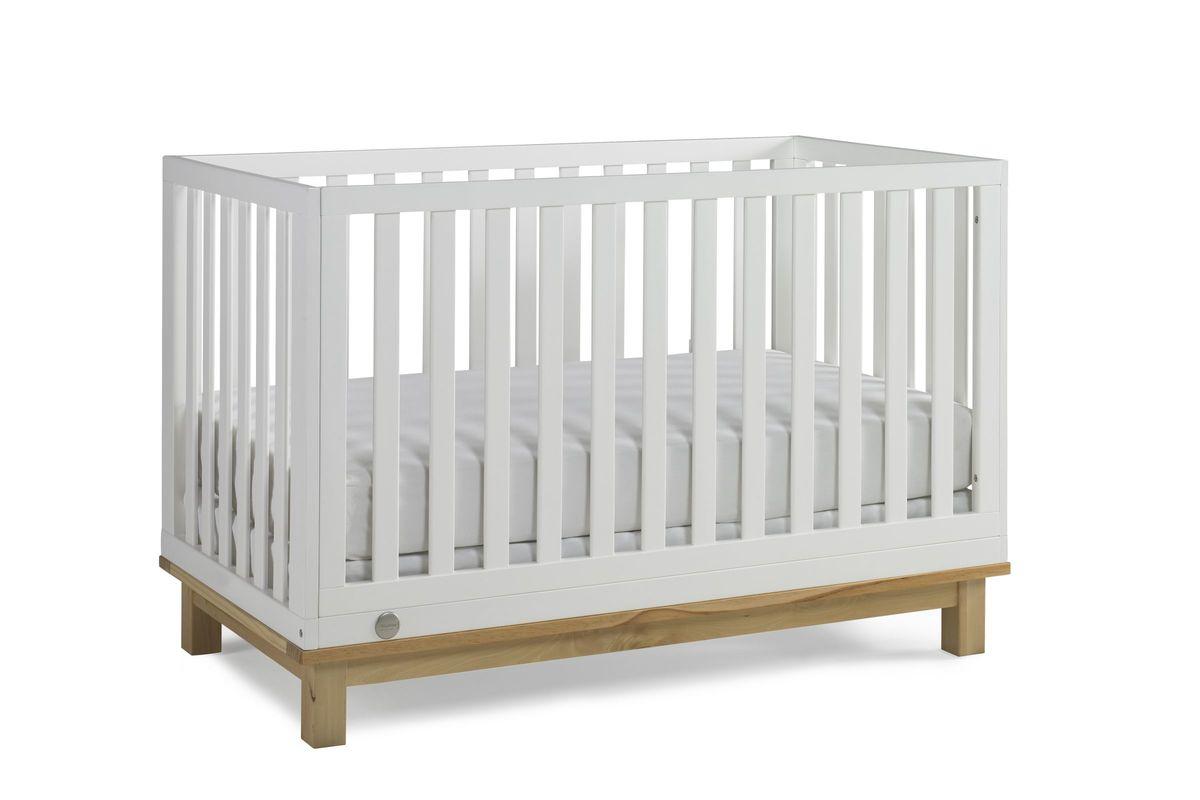 Fisher-Price Riley Island Crib in Snow White/Natural by Bivona from Gardner-White Furniture