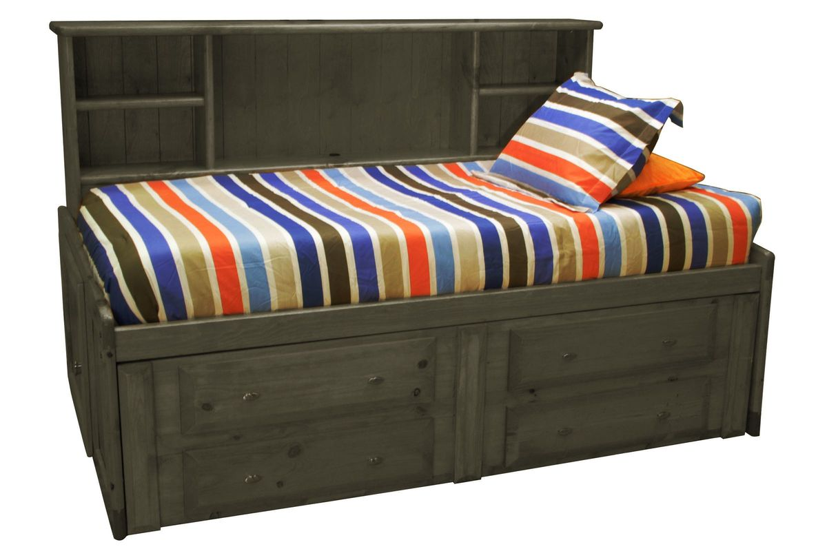 Laguna Grey Twin Roomsaver Bed from Gardner-White Furniture