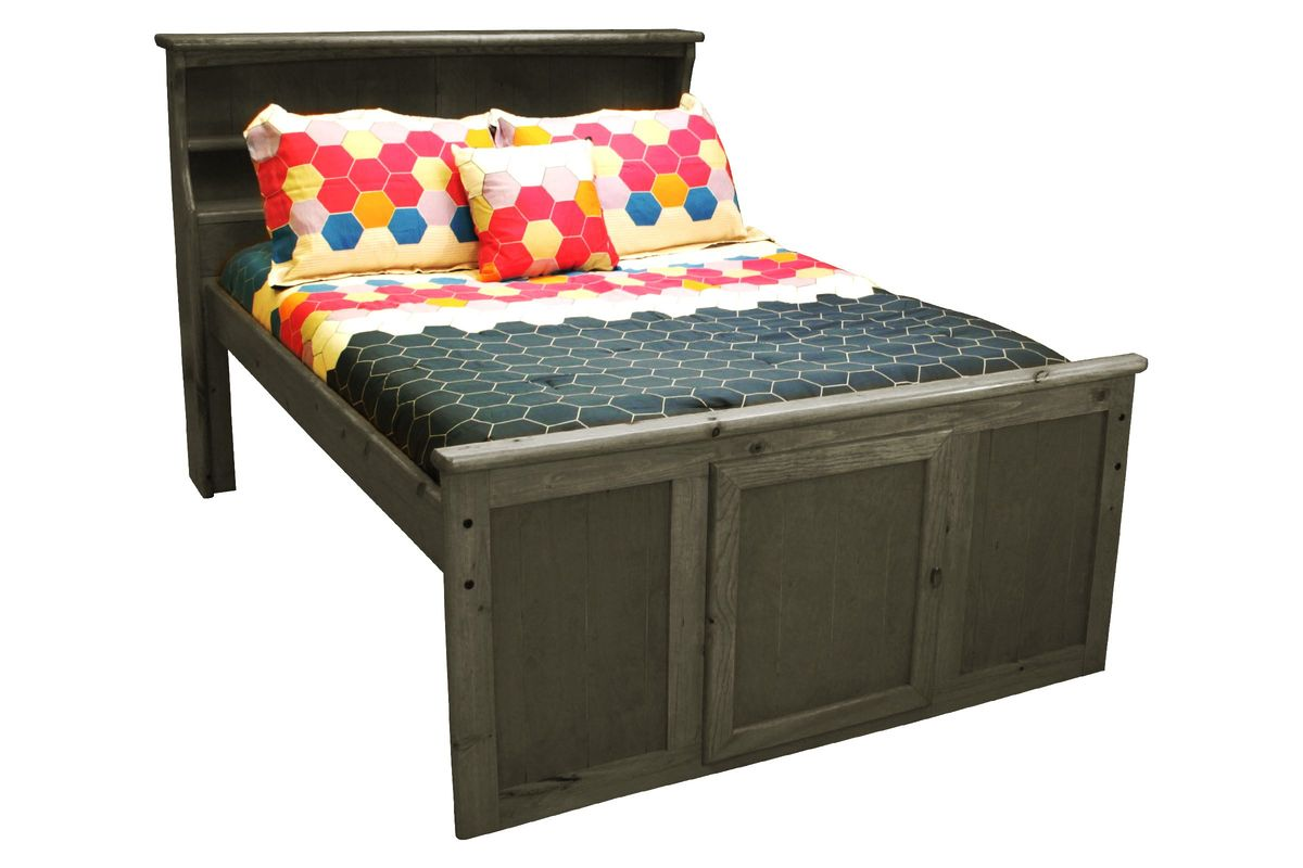 Laguna Grey Twin Bookcase Bed from Gardner-White Furniture