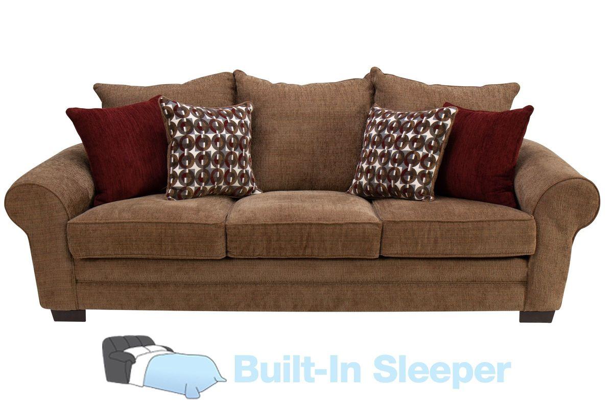 Resort Chenille Queen Sleeper Sofa From Gardner White Furniture
