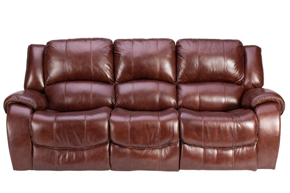 Meadow Leather Power Reclining Sofa At Gardner White