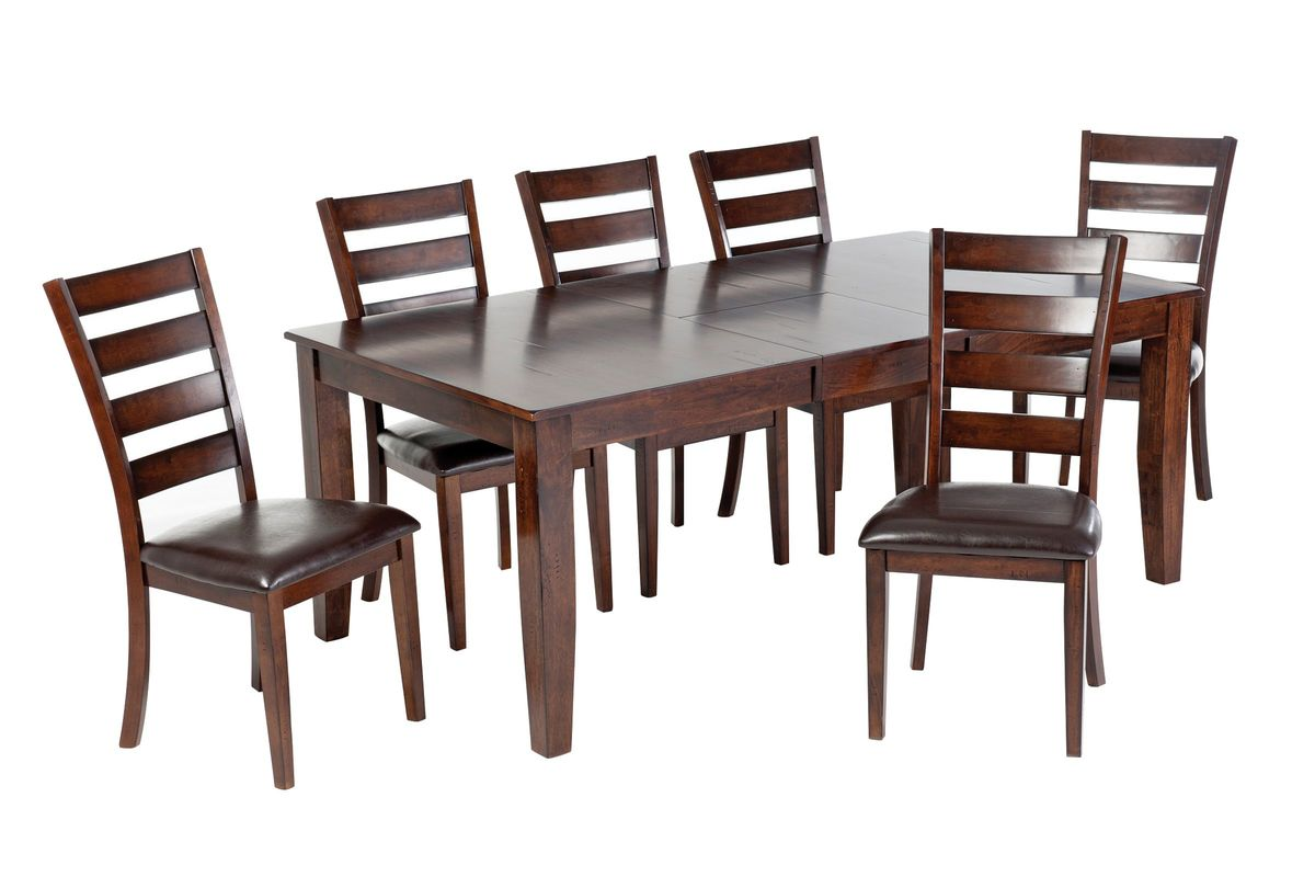 Kona Table + 6 Side Chairs from Gardner-White Furniture