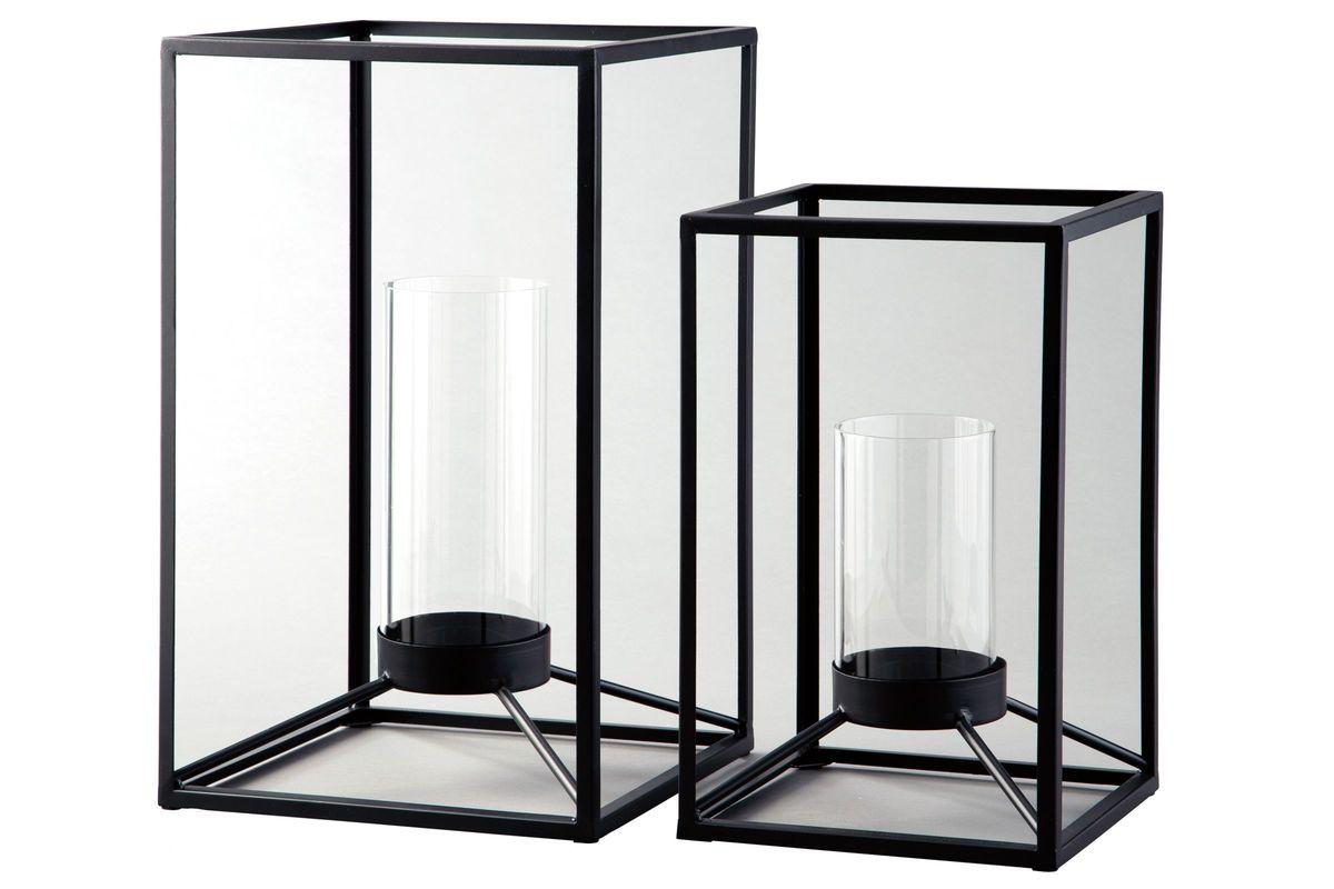 Dimtrois Lantern Set of 2 by Ashley from Gardner-White Furniture