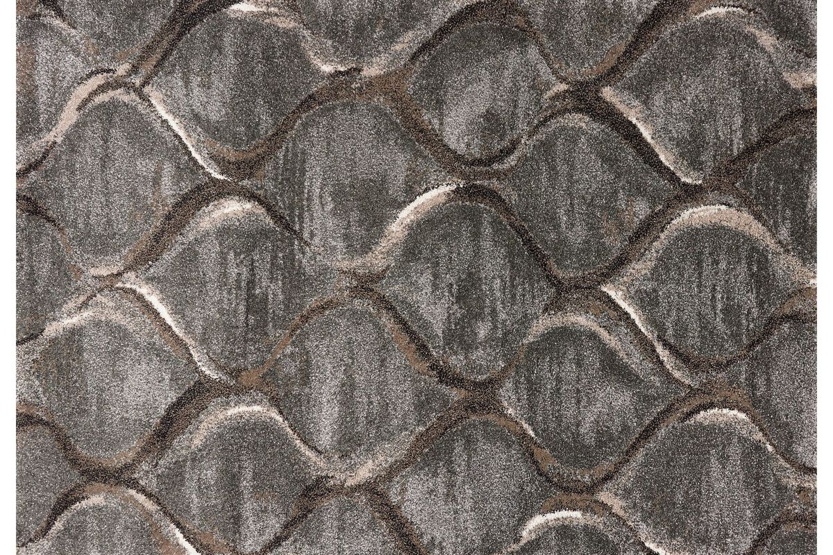 Landscapes Charcoal 5x7 Area Rug from Gardner-White Furniture
