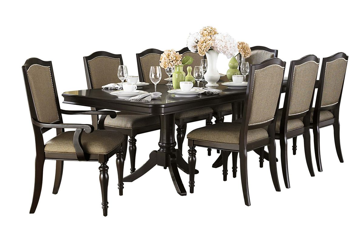 Lancelot Dining Set With 4 Side Chairs 2 Arm From Gardner White Furniture