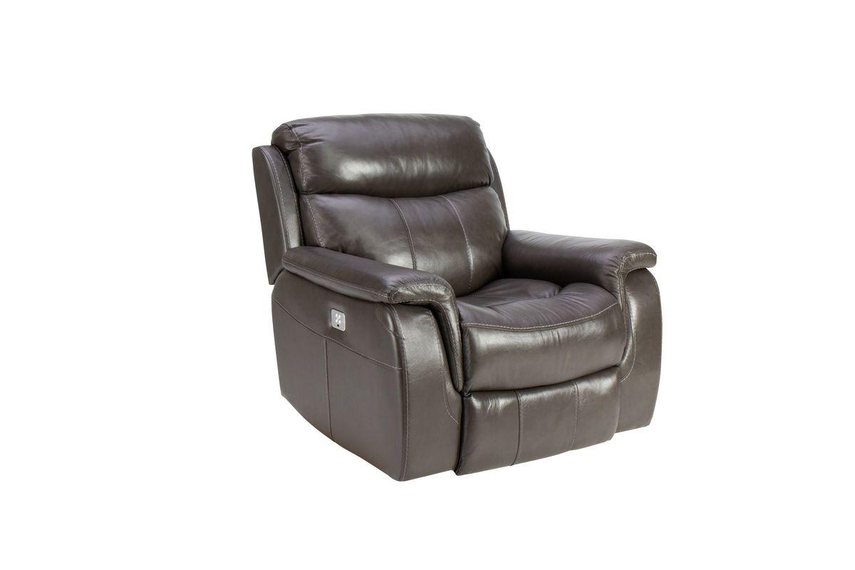 Lagrange Leather Power Recliner from Gardner-White Furniture
