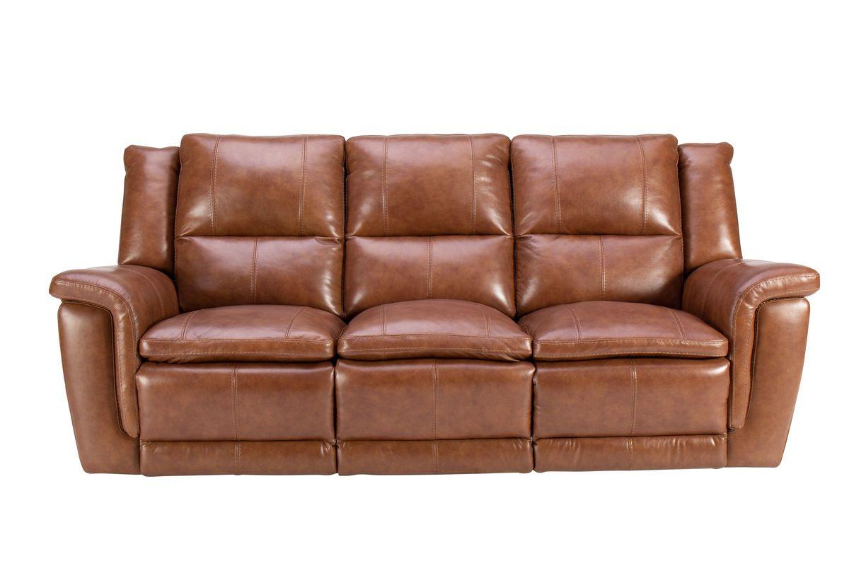 Kerrville Leather Power Reclining Sofa from Gardner-White Furniture