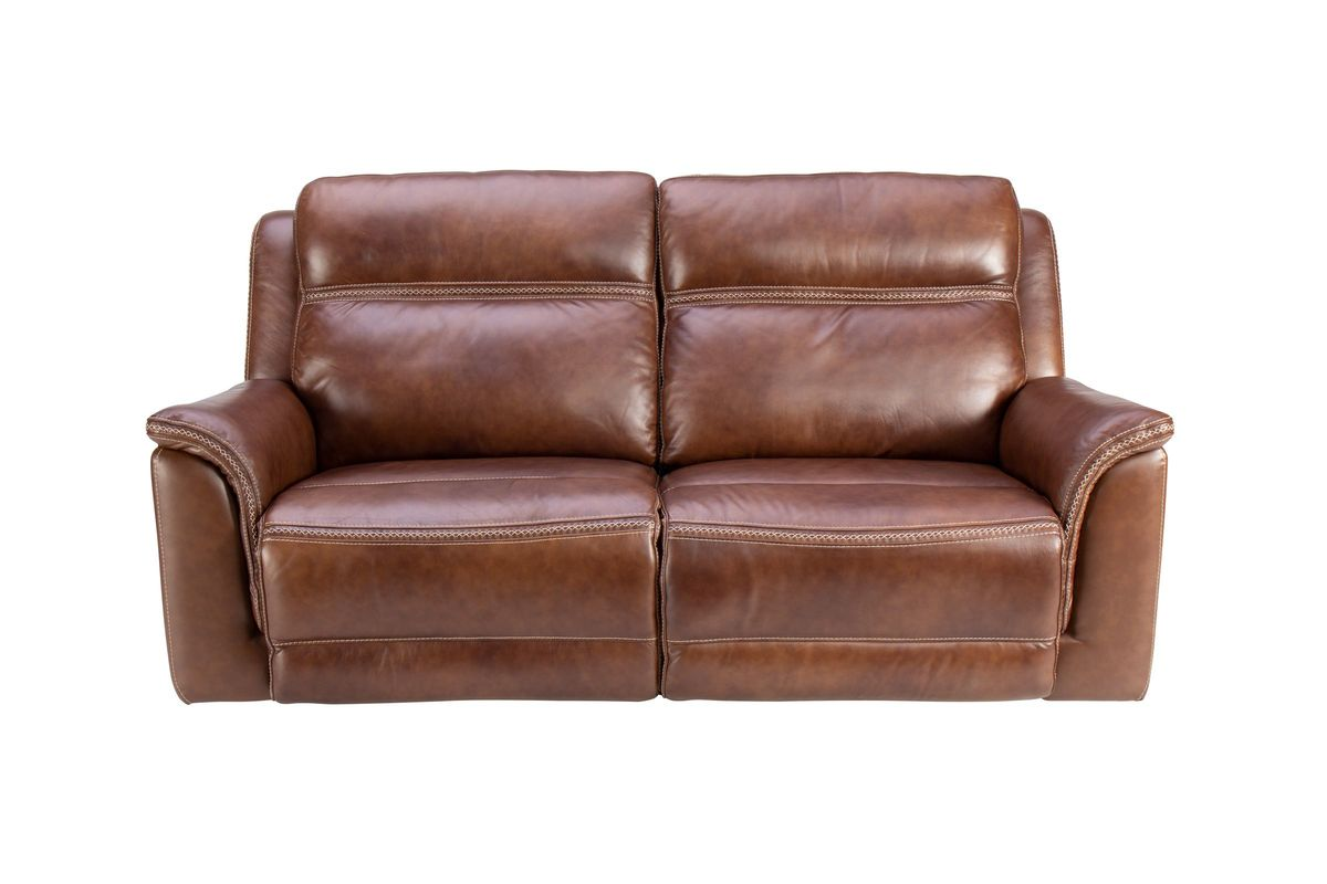 Fargo Leather Power Reclining Sofa from Gardner-White Furniture