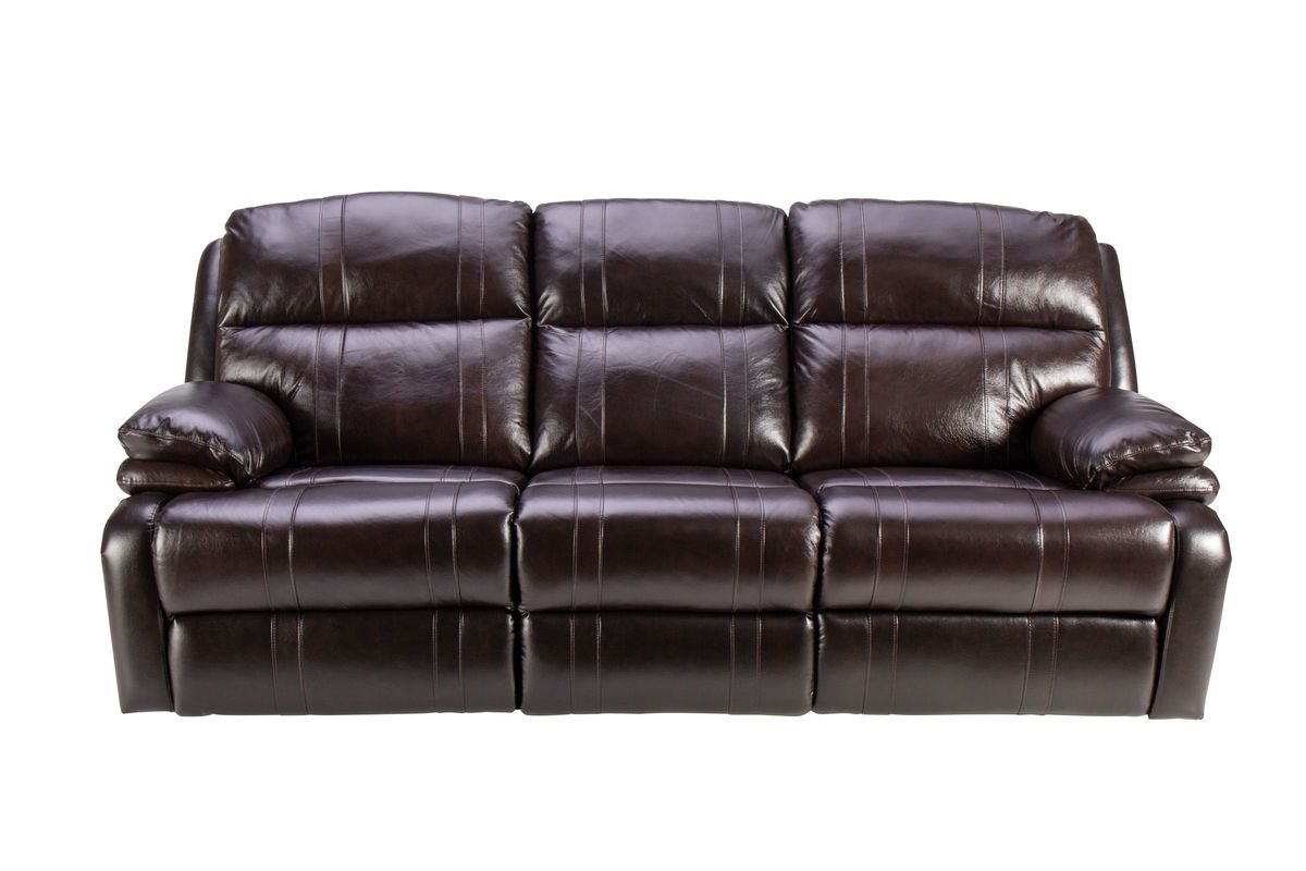 Houston Leather Power Reclining Sofa At Gardner White