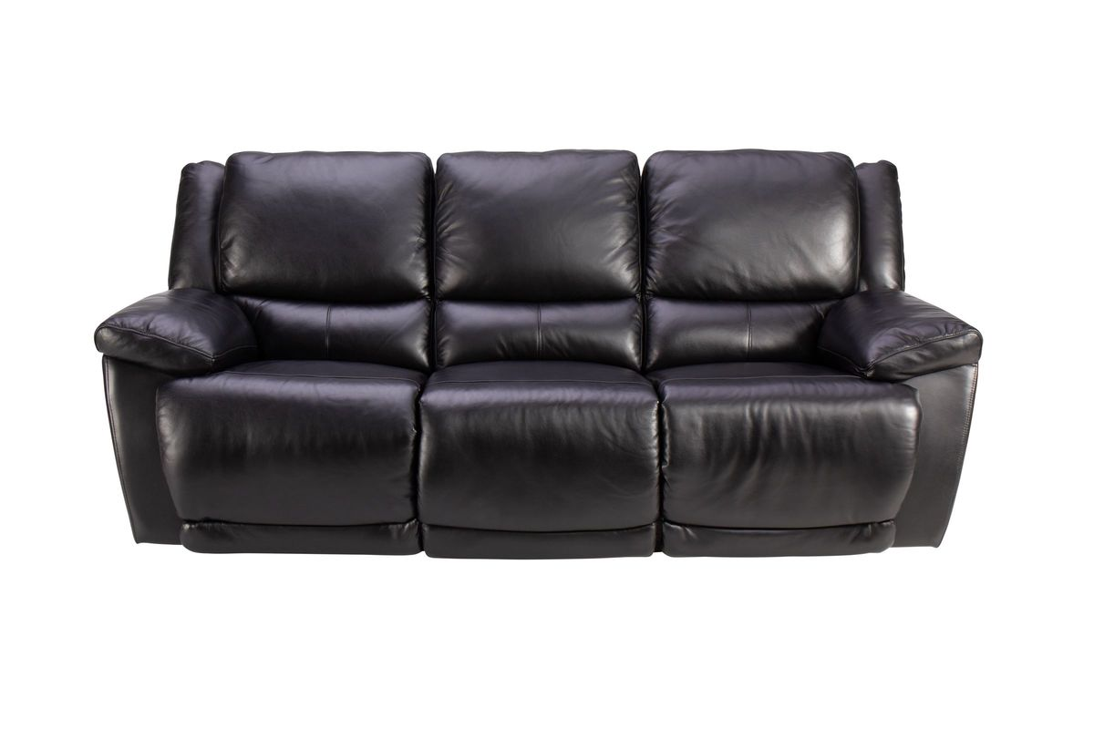 Bermuda Leather Power Reclining Sofa from Gardner-White Furniture