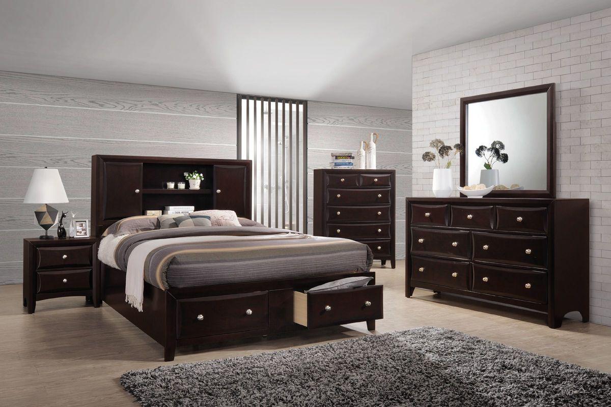 Solitude 4-Piece Queen Bedroom Set