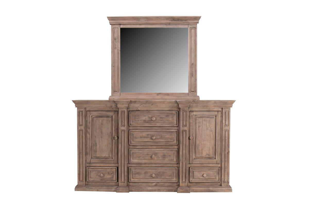 Wimberly Dresser + Mirror from Gardner-White Furniture