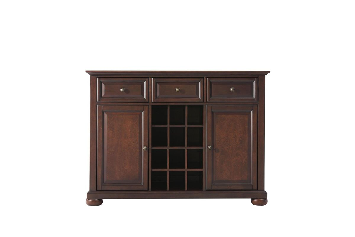 Alexandria Buffet Server/Sideboard Cabinet With Wine