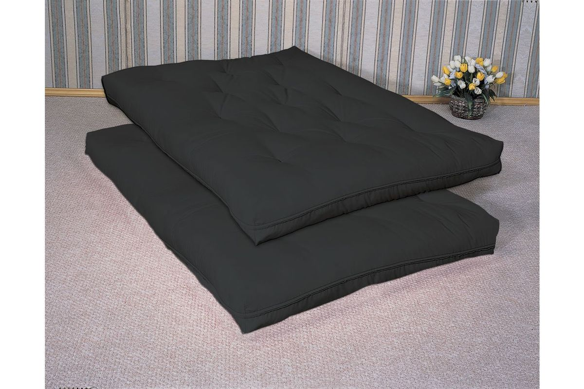Black 9 Premium Innerspring Futon Mattress Pad From Gardner White Furniture