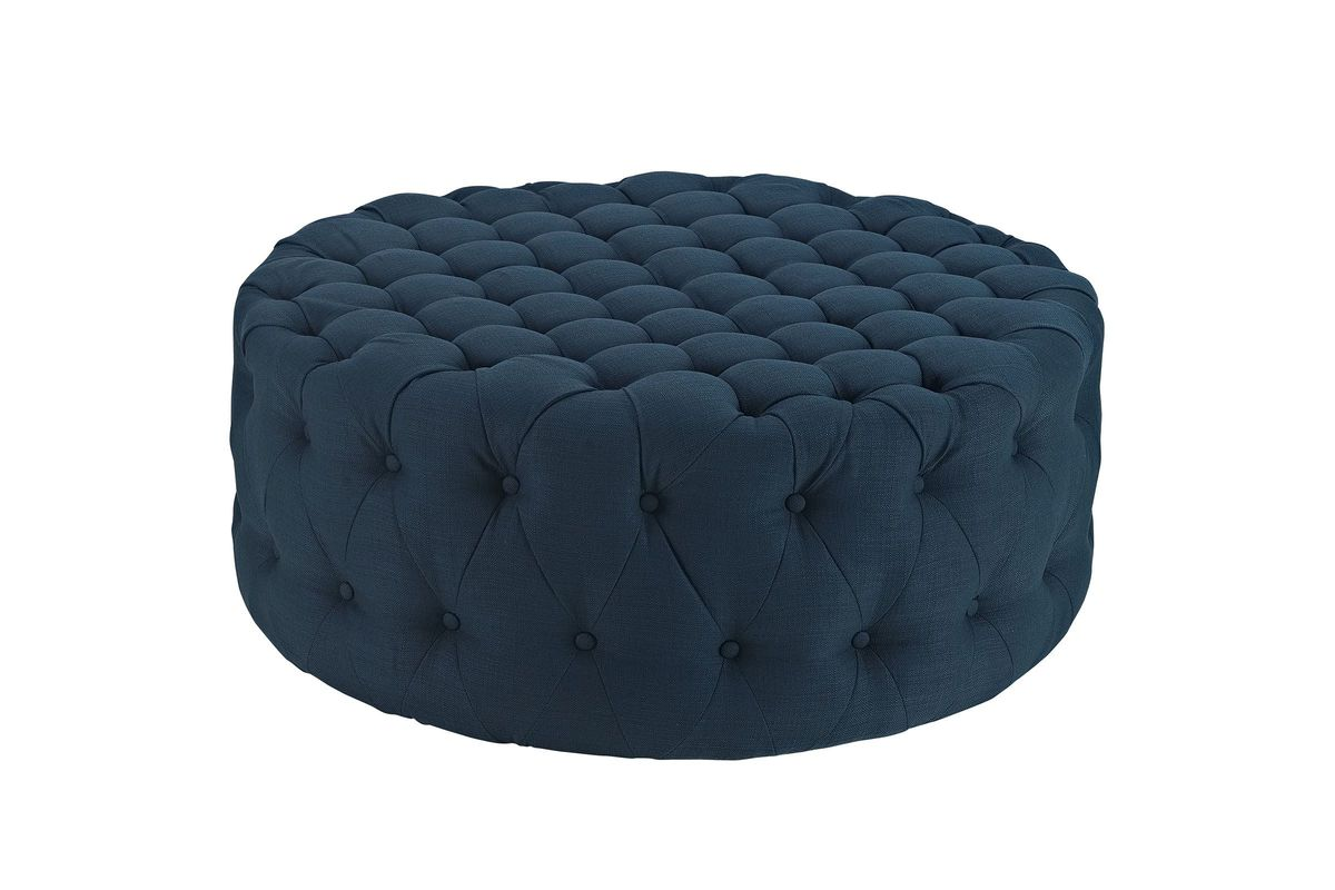 Amour Ottoman in Azure by Modway from Gardner-White Furniture