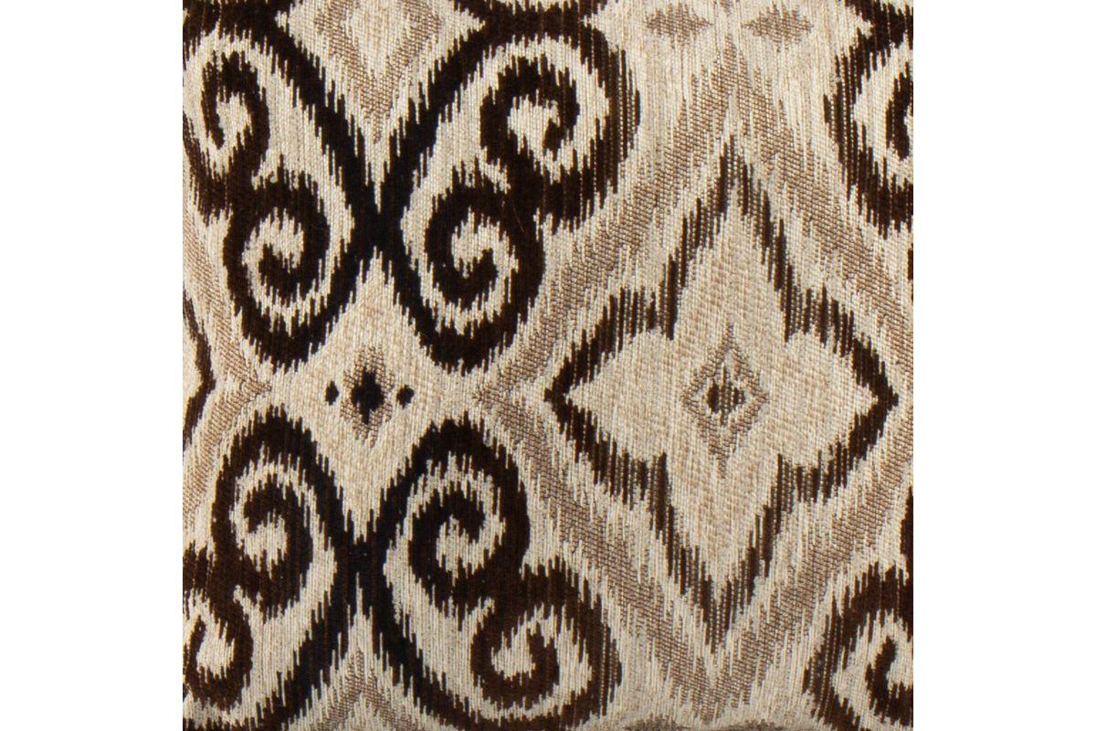Ikat Toss Pillow in Brown from Gardner-White Furniture