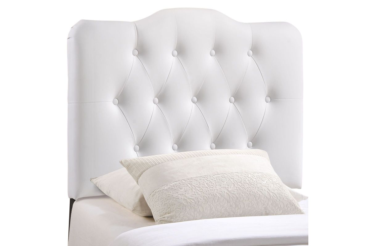 Annabel twin upholstered headboard by modway from gardner white furniture