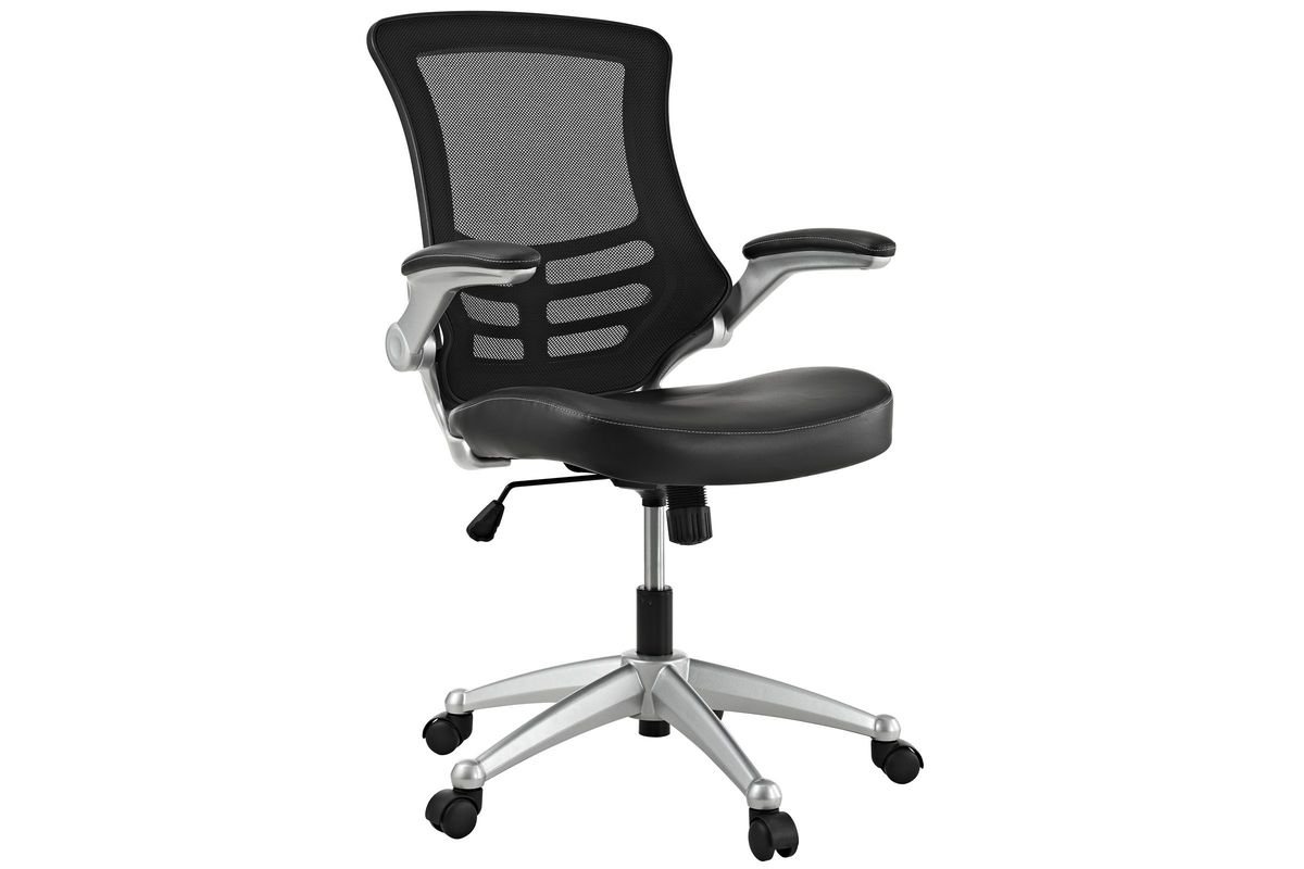 Attainment Office Chair in Black by Modway from Gardner-White Furniture