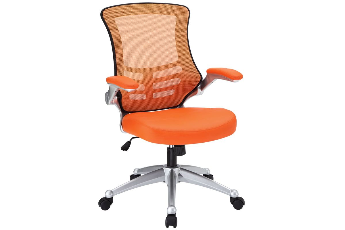 Attainment Office Chair in Orange by Modway from Gardner-White Furniture