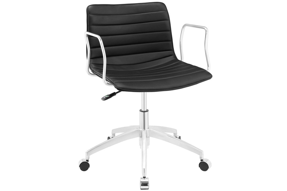 Celerity Office Chair in Black by Modway from Gardner-White Furniture